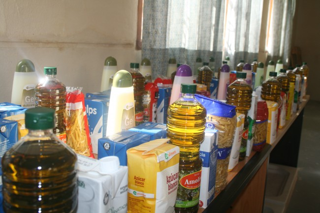 recogida alimentos almàssera