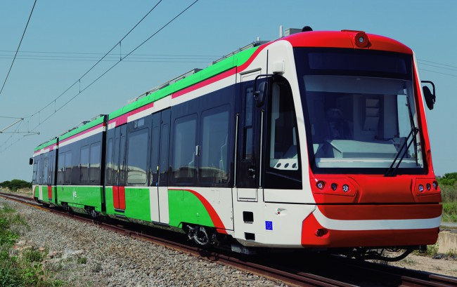 trenes-tram para Sajonia de Vossloh