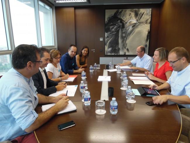 Infraestructuras. Reunión Aldaia,  Xirivella y Alaquas