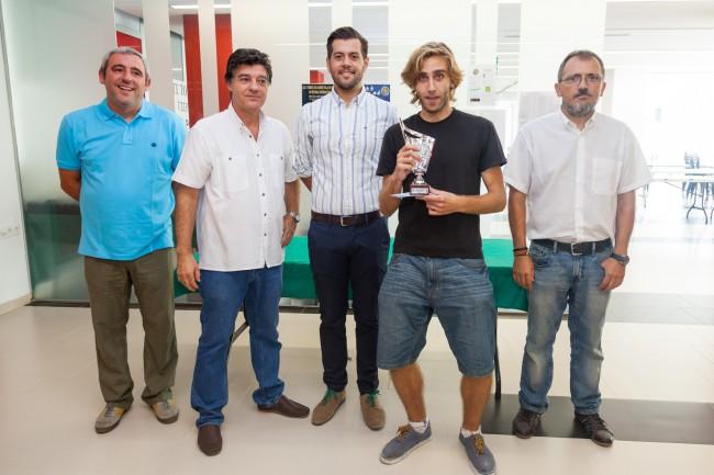 Mislata. Entrega de premios Torneo de Ajedrez de Mislata - campeón