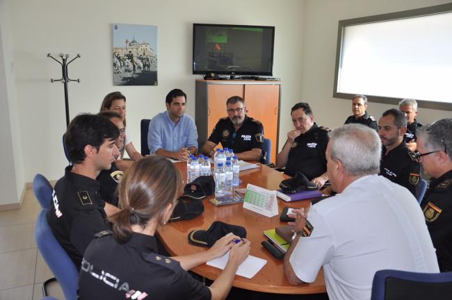 Reunión Sagredo policía