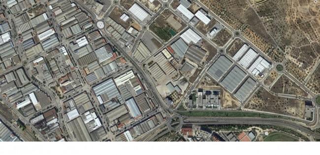 Vista aérea polígono industrial Fuente Jarro
