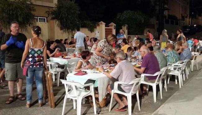cena de verano La cabra Vedat Torrent