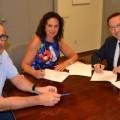 Firma de convenio con HEINKEN España_150922