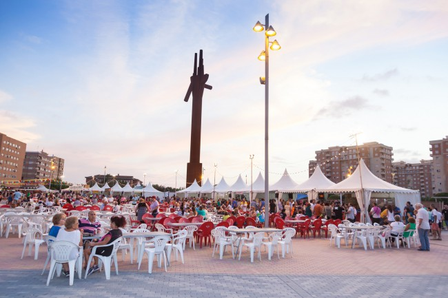 Inauguración feria de fiestas de Mislata