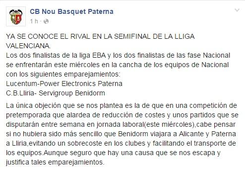 Paterna-Nou-Basquet-Paterna-facebook-lliga-valenciana