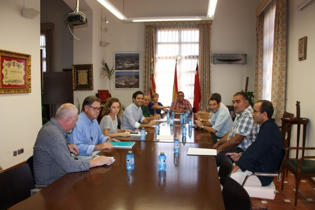 Reunión con los vecinos Plan Diputación Valencia