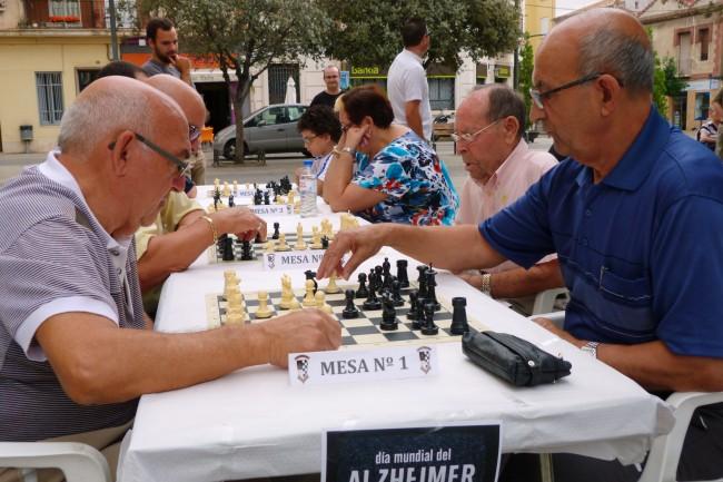 ajedrez contra el alzhéimer en quart de poblet