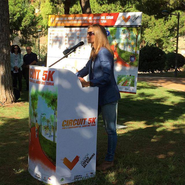 Marta Fernández de Castro,   atleta y entrenadora.