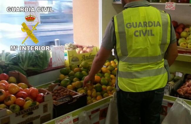 Guardia Civil. mandarina