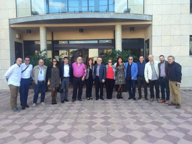 Horta Nord. PSPV. portavoces,  alcaldesas y alcaldes socialistas de l'Horta Nord