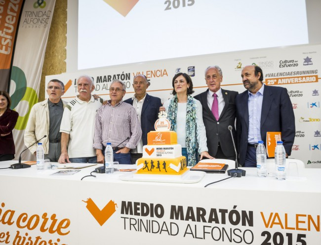 Medio Maraton Valencia 2015 XXV aniversario