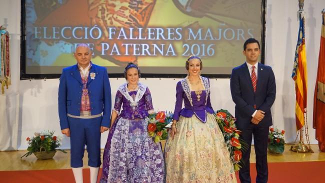 Nuevas Falleras Mayores de Paterna