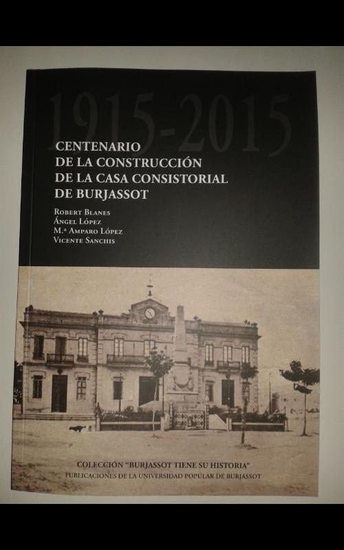 libro centenario ayuntamiento burjassot