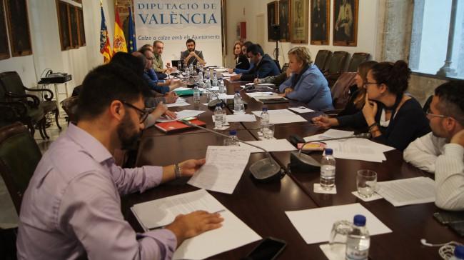 Diputacion-TRANSPARENCIA-reunión-Jaramillo