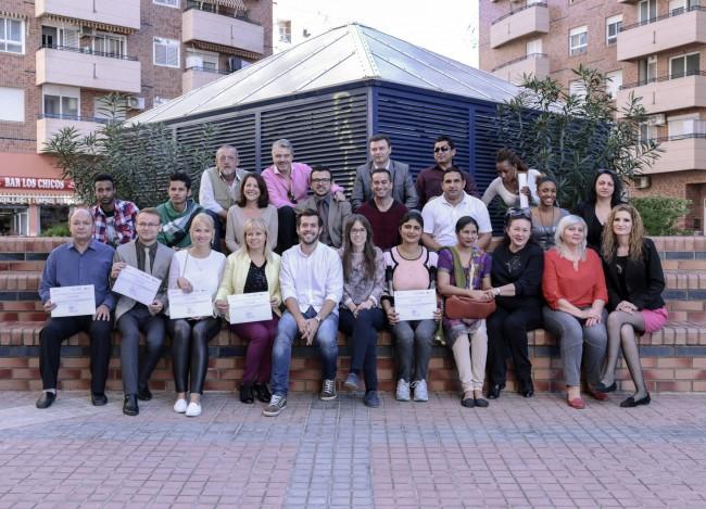 Entrega de diplomas curso de castellano AMICS-1