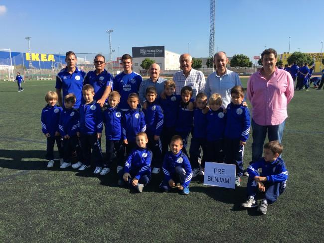 presentación equipos de fútbol massanassa