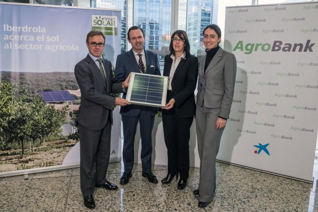 Acuerdo Iberdrola,  Smart Solar- Caixabank-Agrobank (II)