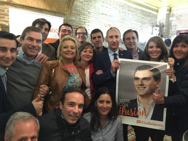 Ciudadanos. Inicio campaña Valencia