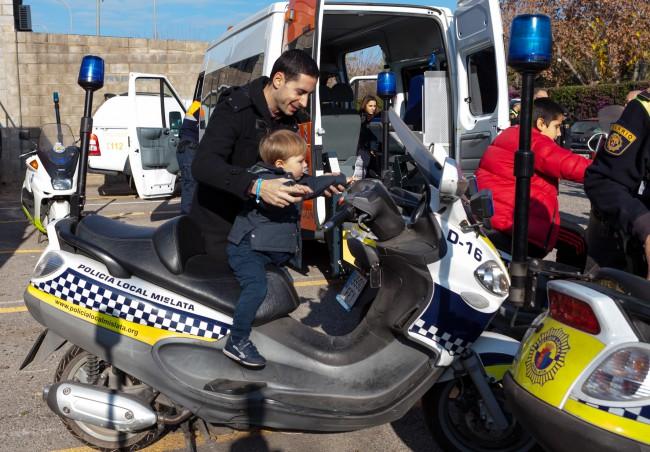 Mislata. Jornada de puertas abiertas Policía Local Mislata