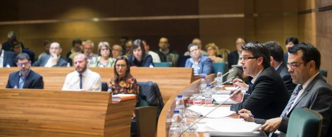 Pleno Diputación presupuestos 2016