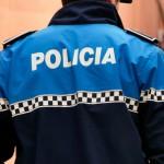 Policía Local. Uniforme azul