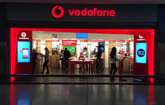 Vodafone. Tienda