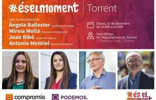 Emperador, Llocnou y Torrent, protagonistas de los actos de campaña mañana en l'Horta