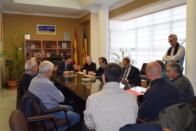 consellera Salvador redacción proyecto Empalme Burjassot