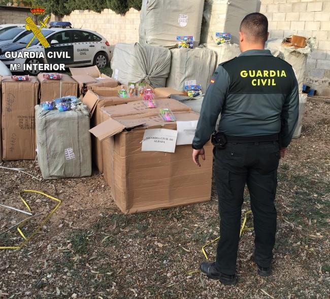 manises. juguetes robados y recuperados por la Guardia Civil