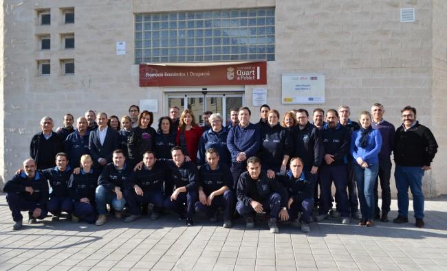taller de empleo energías renovables quart de poblet