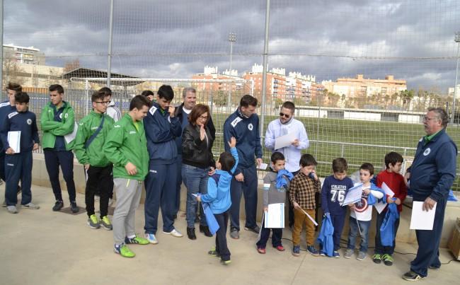Escola Municipal de Futbol Alaquàs tanca el II Campus de Nadal