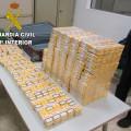 Guardia Civil. Contrabando tabaco. aeropuerto de Manises