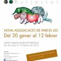 Huertos Sociales- adjudicación parcelas 2016