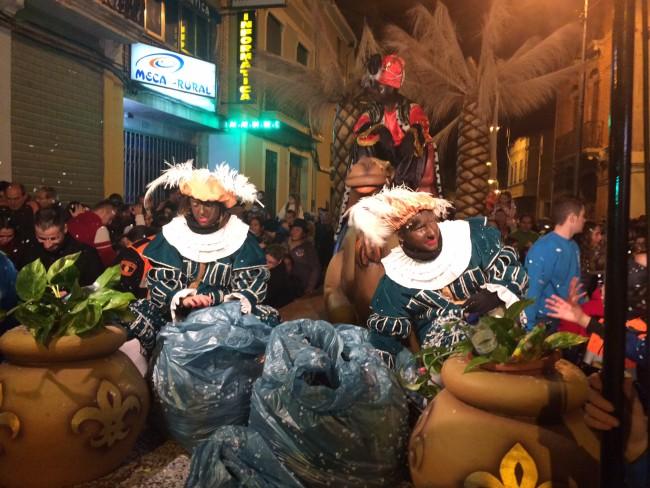 Massamagrell. cabalgata de Reyes