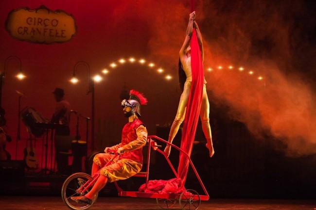 circo gran fele espectáculo orinoco en Paterna