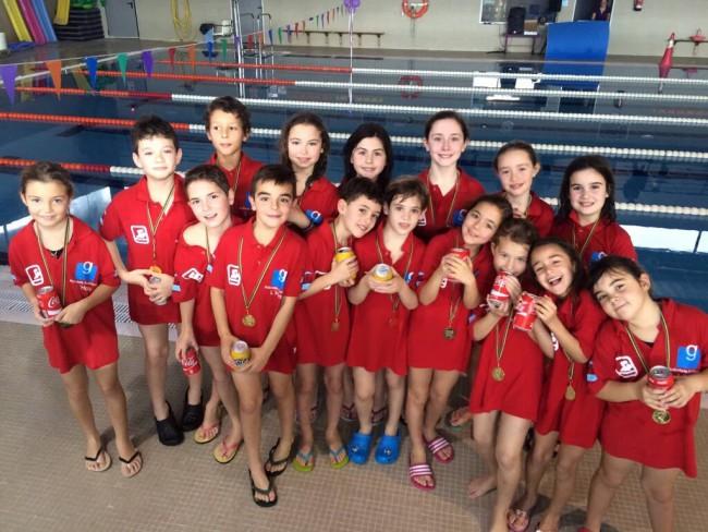 competició acuática piscina municipal Almàssera