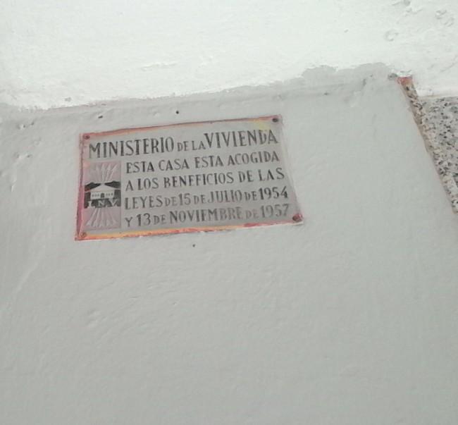 placa falangista