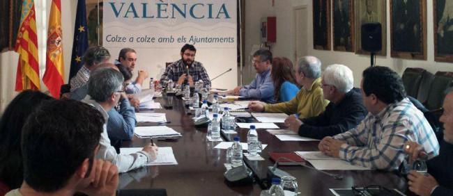 Diputacion reunión concejales transparencia meliana