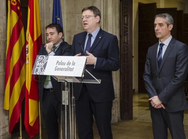 Foto 6 - Firma acuerdo CaixaBank - Generalitat Valenciana