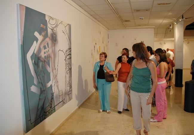 Inauguración Bienal Pintura 2006