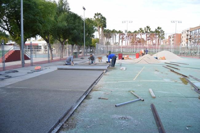 obras instalaciones deportivas polideportivo burjassot (1)
