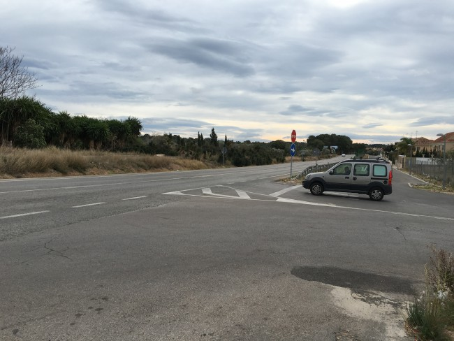 rotonda carretera la canyada