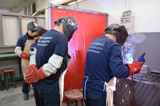 taller de empleo soldadura burjassot