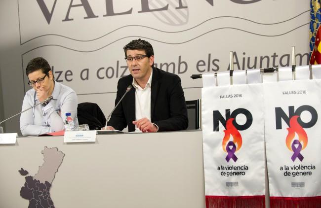 Diputacion ayudas fallas 'No a la violencia de Género'