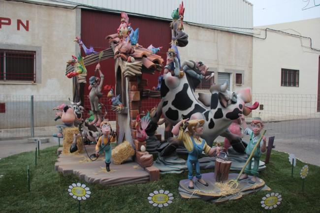 Falla Trinquet - monument infantil
