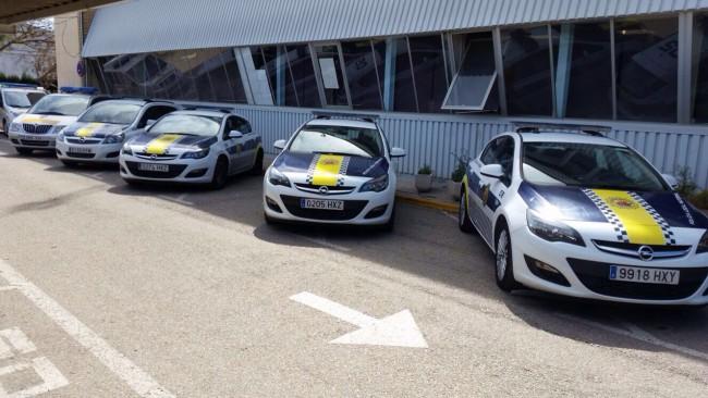 Flota policia local2