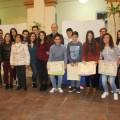 Jesús Borràs i Pilar Molina amb estudiants