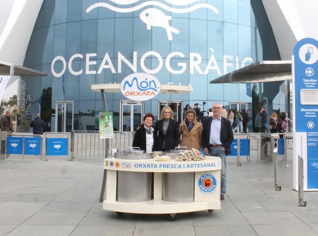 Oceanogràfic venderá horchata valenciana artesana y ecológica