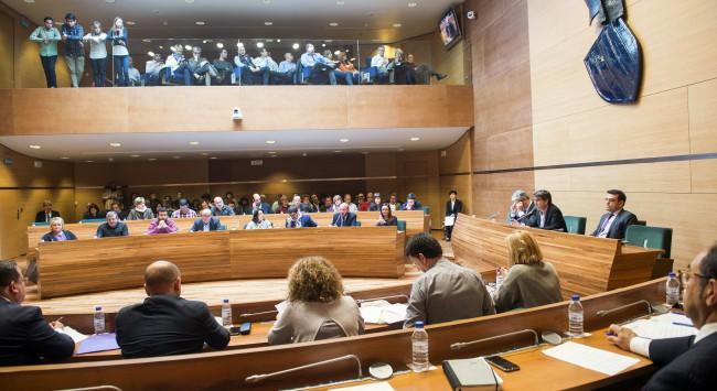 Pleno Diputación comision Operacion Taula